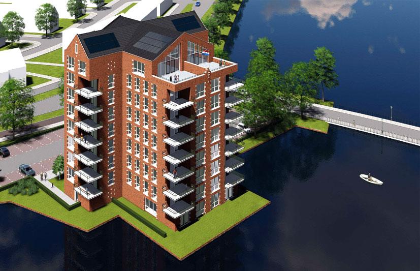 VOF Westergouwe appartementen 13 september in verkoop