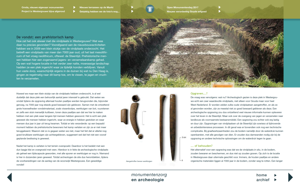 nieuwsbrief monumentenzorg en archeologie_2